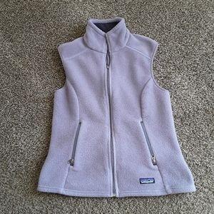Patagonia Synchilla Lavender Vest Women's Size M